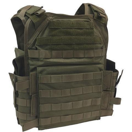 Modular ballistic plate carrier tactical vest
