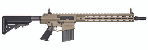 Knights Armament SR25 duty FDE rifle