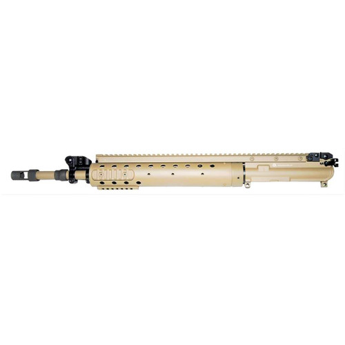 Precision Reflex PRI SPR Mk12 Mod0 upper receiver group in FDE