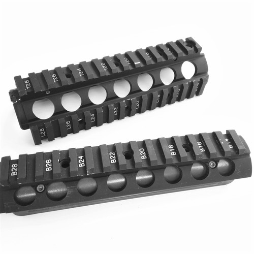 blemished mil-spec P&S Products M4 Rails