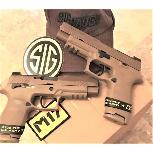 Sig Sauer P320 M17 9mm military pistol