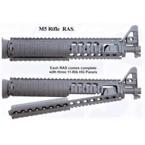 Knights Armament Kac M5 Rifle Ras 556 W 3 Rail Panels Nos