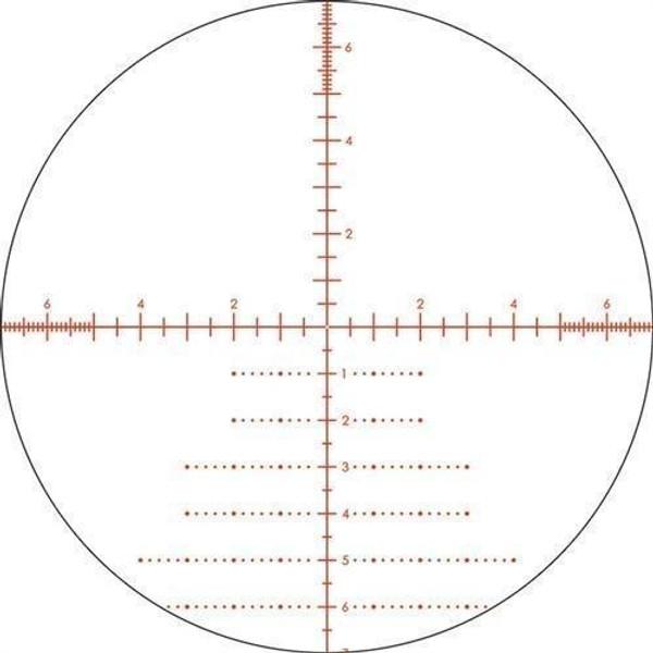 Vortex Viper PST 6-24x50 EBR-2C Ret  FFP Riflescope