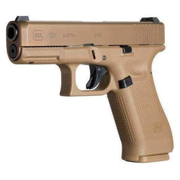 """Mid size meets full size. Yet still comfy as a ccw or LE service pistol with its 4.01"""" barrel 19rd mag, you'd think its to big but its compact slide it actually can be a great buddy!"""