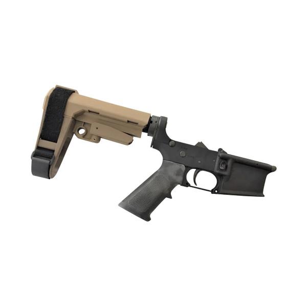 Colt M4 Pistol Lower Receiver with SB Tactical Brace