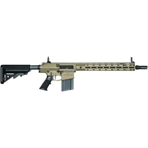 Knights Armament SR25 duty FDE rifle