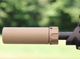 Surefire SOCOM 556 mini Gen 1 in  FDE