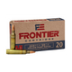 Hornady Frontier Rifle 223 Rem 55 gr Hollow Point Match 20 rnd box