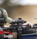 Trijicon Credo 1-8x28x Tactical Riflecope FFP MIL w/ Red/Green LED 34mm tube