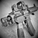 Daniel Defense Mk18 Mod1 Folding Pistol - Black