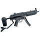 Knights Armament KAC MP5 RAS rail adapter with 11-ribbed KAC covers shown on PTR clone