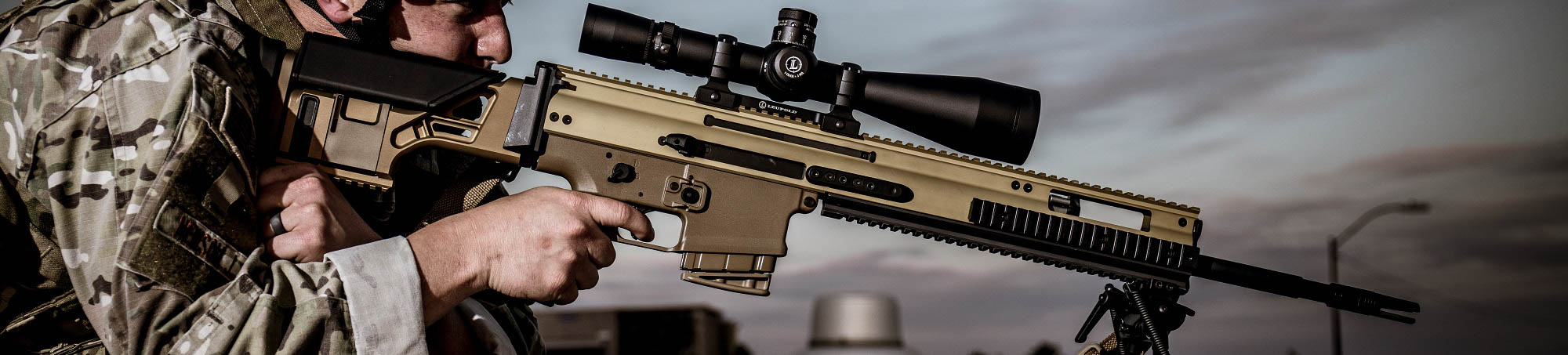 Welcome to Charlie's.  Your source for military grade rifles like the Mk20