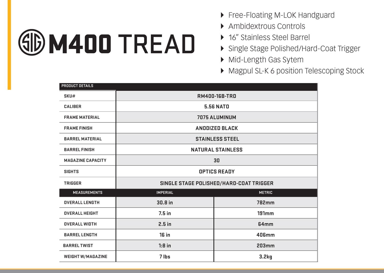 Sig-Tread M400