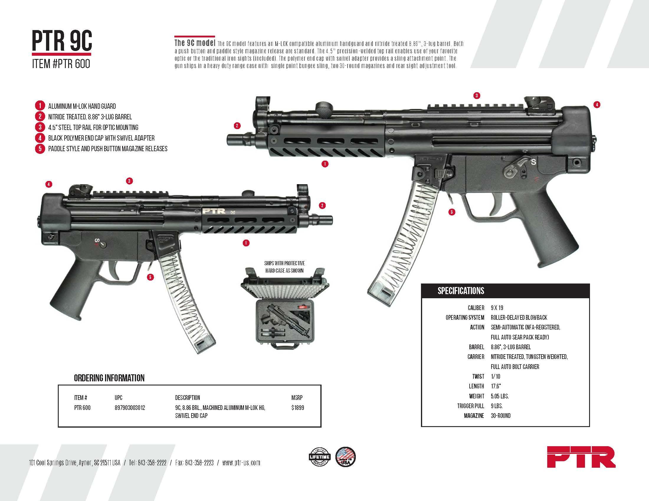 PTR 9C
