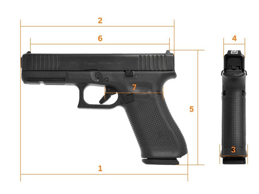 Glock 17 full size Gen 5 MOS