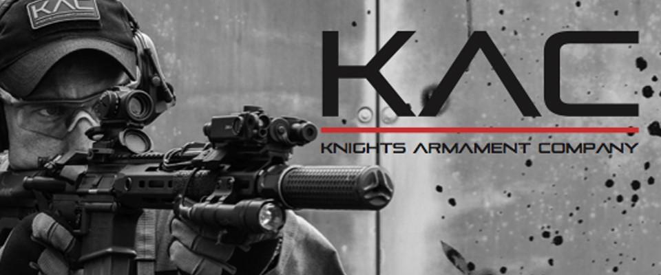 Knights Armament KAC 5.56 CQD suppressor in black