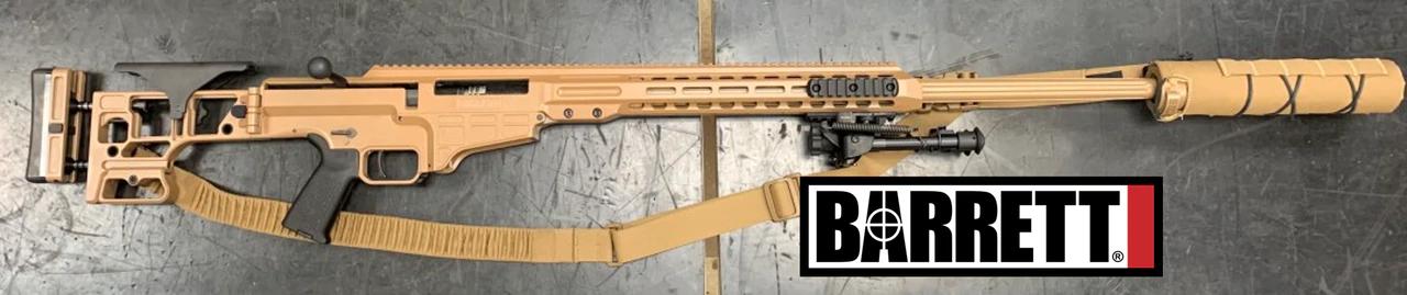 Barrett MRAD ASR Mk22