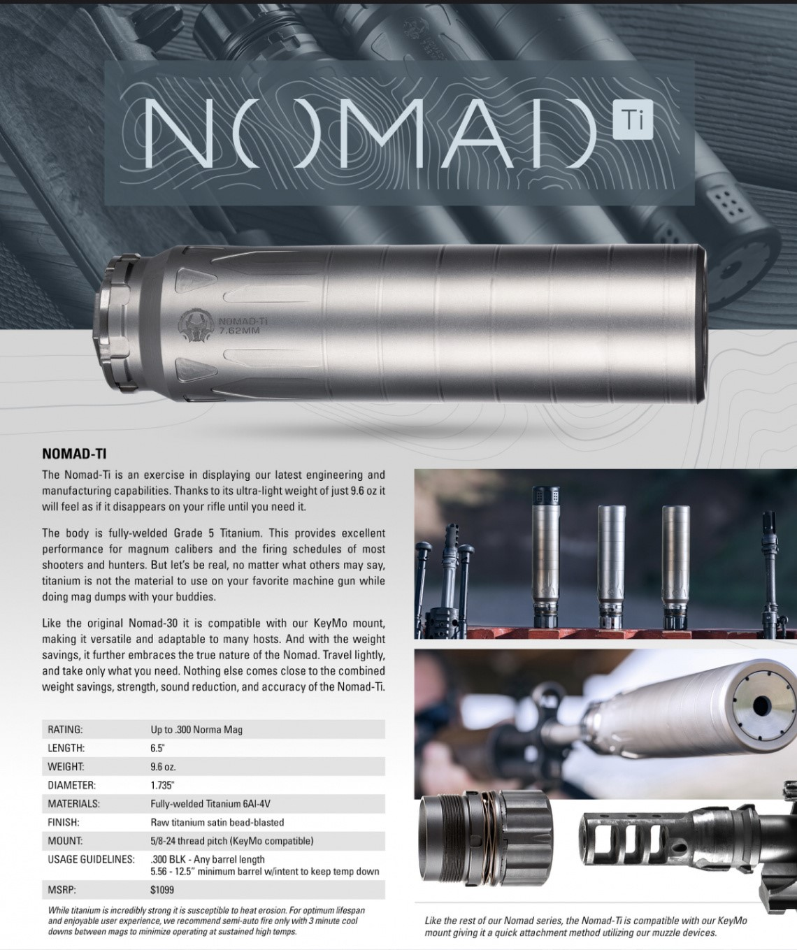 Nomad-Ti suppressor