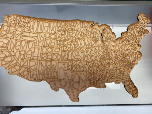 USA Map with SVG