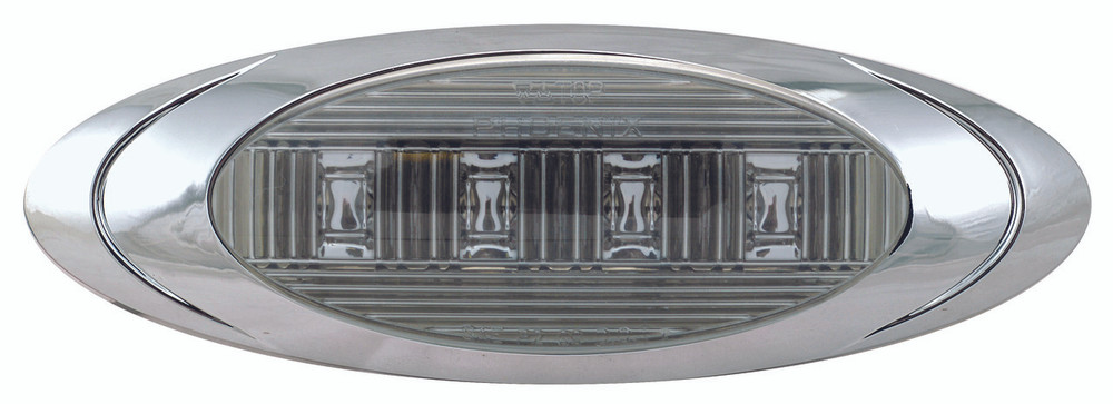Oval Phoenix P1 LED Clearance Marker Light - Smoke Series