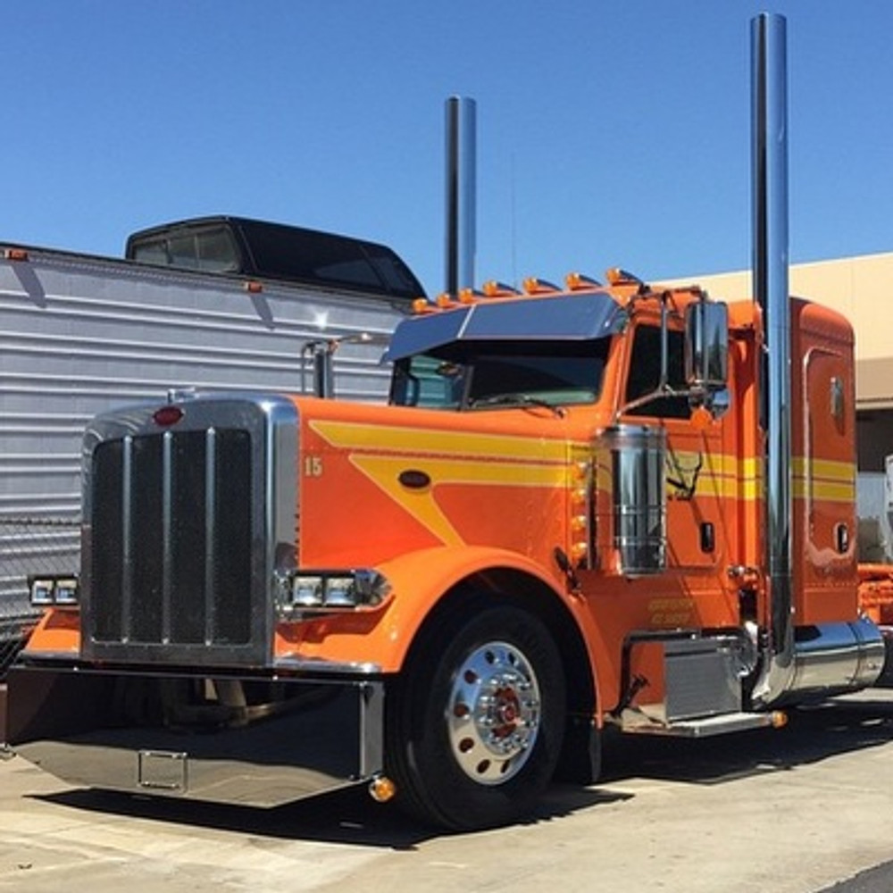 Goose Style Peterbilt Visor Elite Truck Accessories