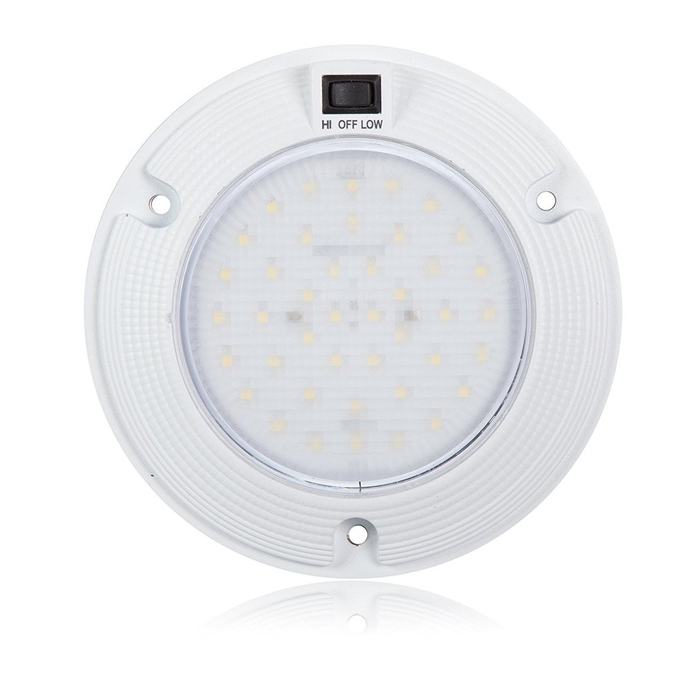 Dome Light with 3 Position Switch (Hi/Off/Low)