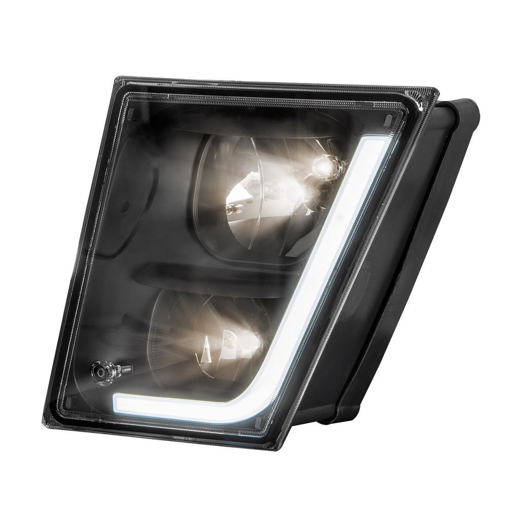 Volvo Black VN/VNL Fog Lights (2003-2017)