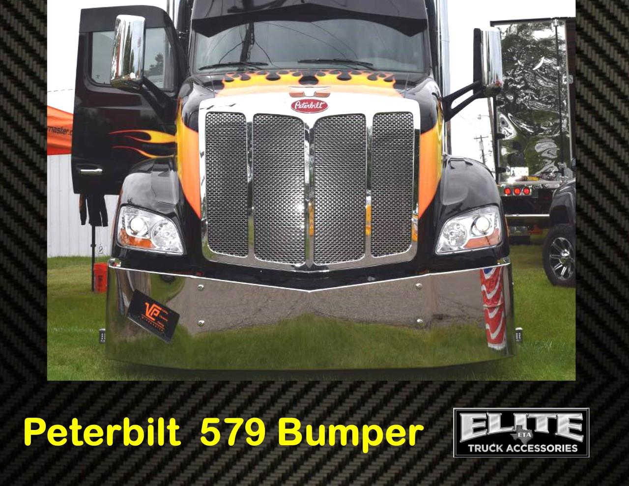 Peterbilt Bumper 579 Set Back Axle Elite Truck Accessories
