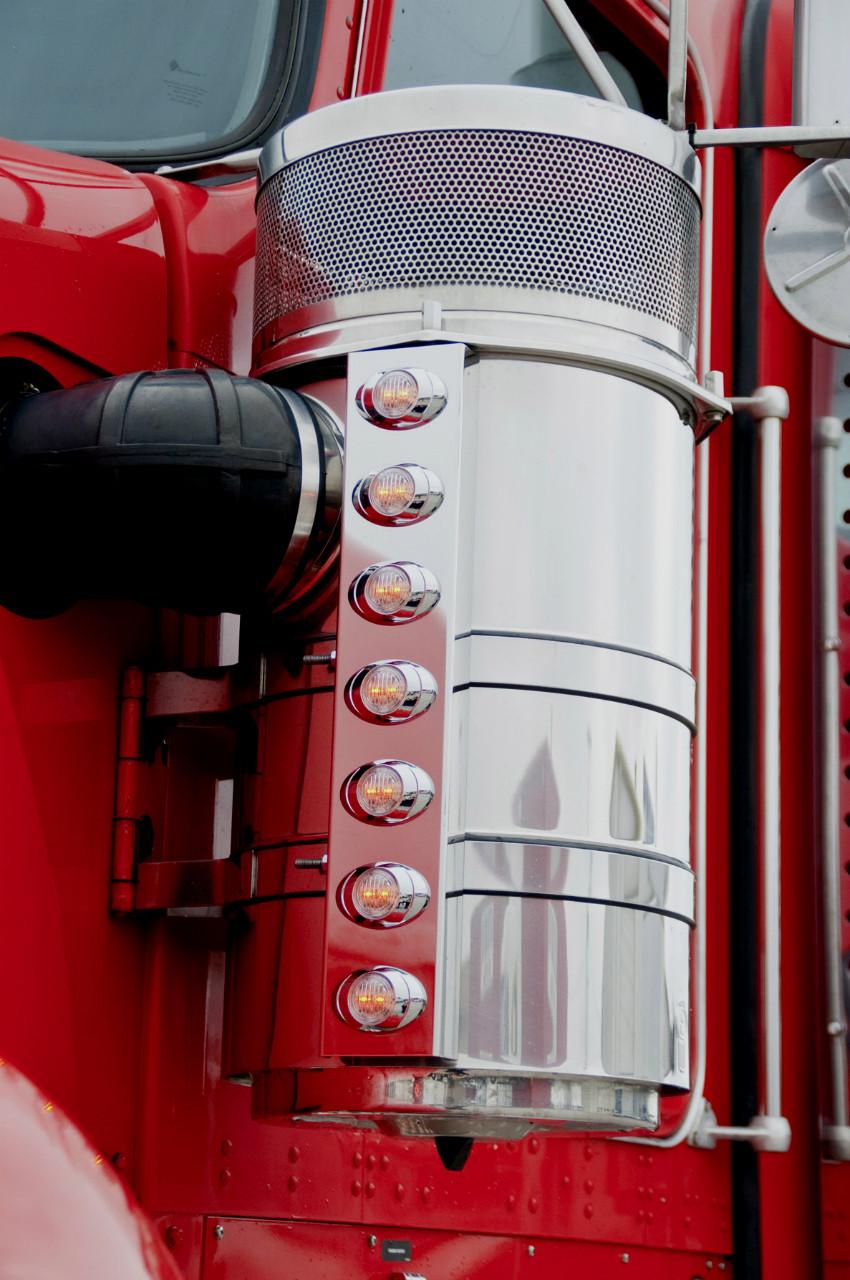 Kenworth Front Air Cleaner Light Panels -Phoenix P3 Lights