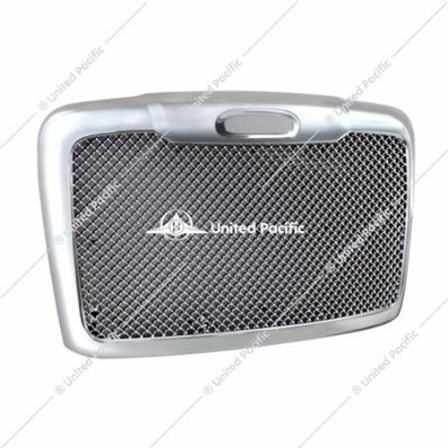 Mesh Grille w/Bug Screen & Logo Mount For 2008-2017 Freightliner Cascadia