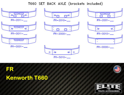 Kenworth Bumper T660