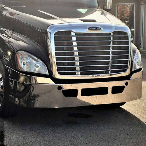 Freightliner Bumper Cascadia w/ Factory Chrome Bumper
