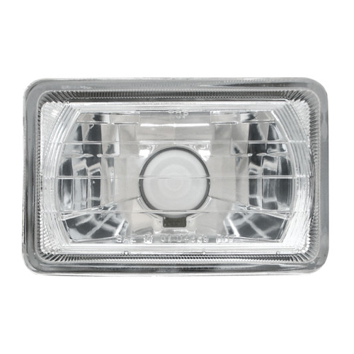 RECTANGULAR HALOGEN HEADLAMP, 4x6 Headlight with bulb