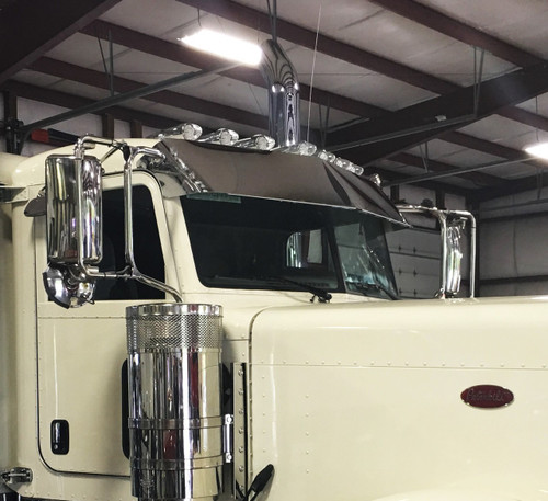 "Peterbilt Visor 14"" Blind Mount"