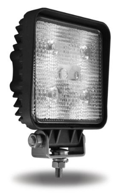 "4"" Square LED Work Light (500 Lumens) Spot Beam (TLED-U24)"