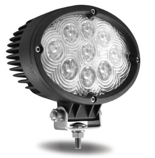 "6"" Oval LED Work Light (900 Lumens) Spot Beam (TLED-U7)"