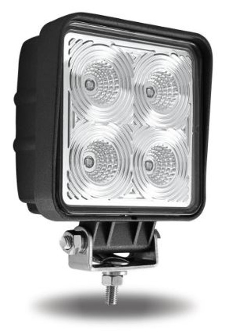 "4.5"" Square LED Work Light (4000 Lumens) Flood Beam (TLED-U27)"