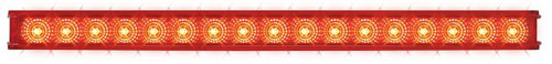 "20"" Light Bar Spyder LED, Red/Clear Lens - Stop, Turn & Tail (76981)"