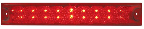 "12"" Light Bar Spyder LED, Red - Stop, Turn & Tail (76987)"