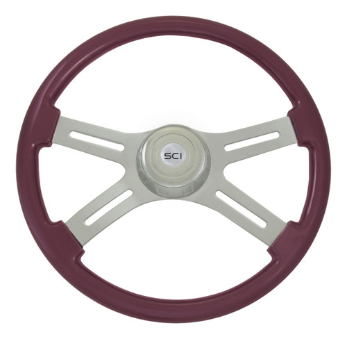 "18"" Classic Purple Steering Wheel"