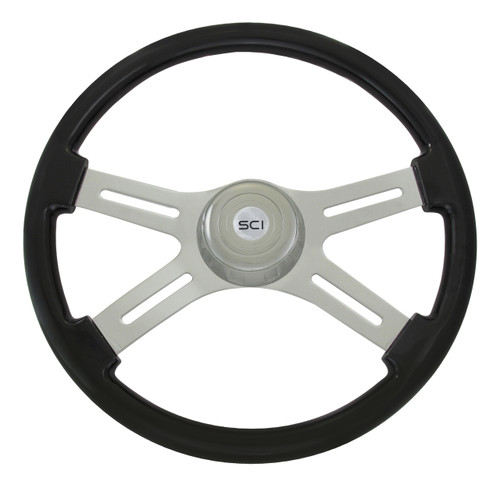 "18"" Black Steering Wheel (590-3003-77502)"