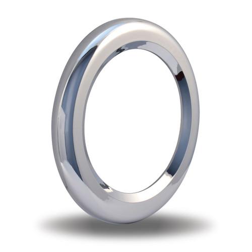 4″ Round Light Chrome Twist-On Bezel