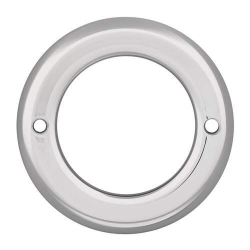 2-1/2″ Round Light Chrome Bezel