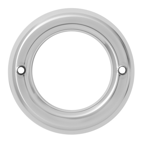 2″ Round Light Chrome Bezel