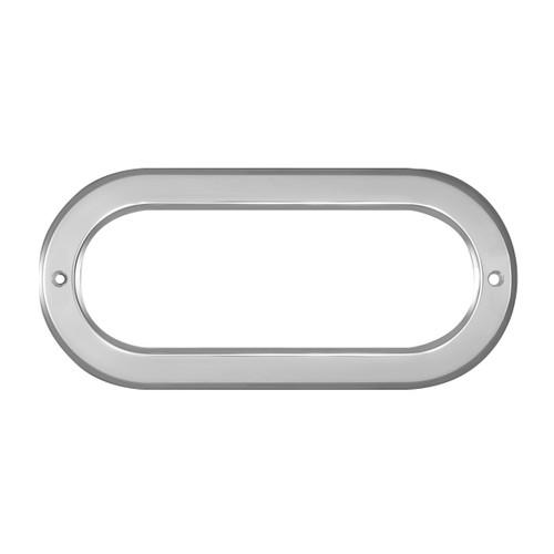Oval Light Chrome Bezel