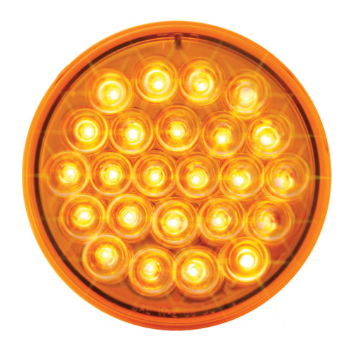 4″ Round Pearl Led Continuous Strobe Light