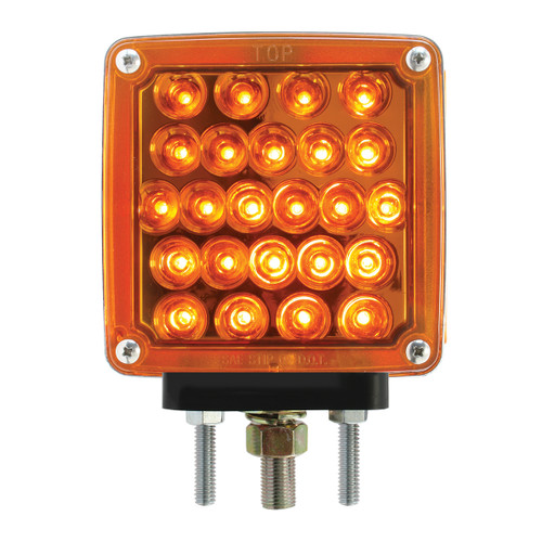 Square Double Face Pearl LED Pedestal Lights