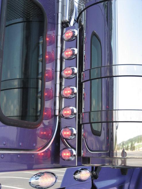 Peterbilt Rear Air Cleaner Light Panels - Phoenix P3 Lights