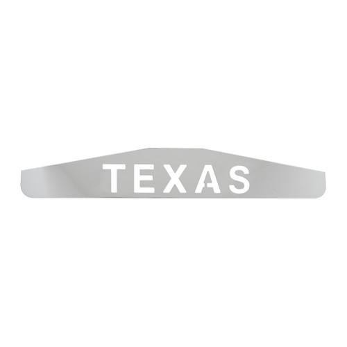"24"" Bottom Mud Flap Plates - Texas"