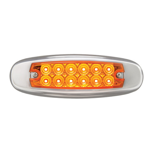 Rectangular Spyder LED Marker Light - Amber